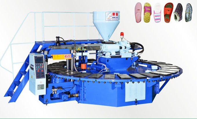 Automatic disc plastic shoes injection molding machine DR-9130CI