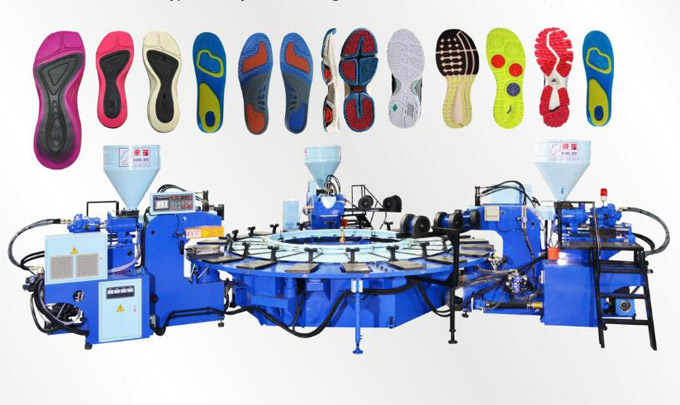 Automatic disc type plastic injection molding machine (three color 24 position)