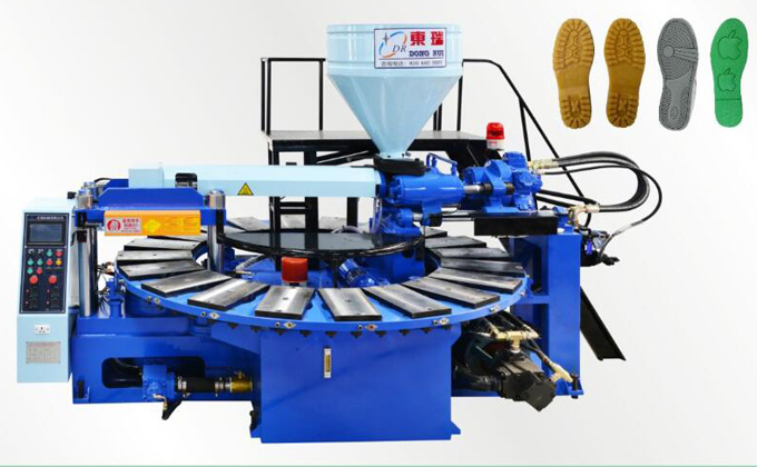 Full automatic disc type plastic injection molding machine (20, 24 position)