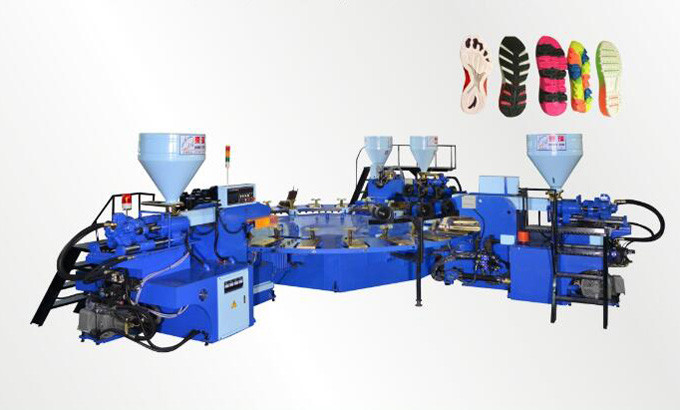 Full-Automatic disc type plastic injection molding machine (24 color)