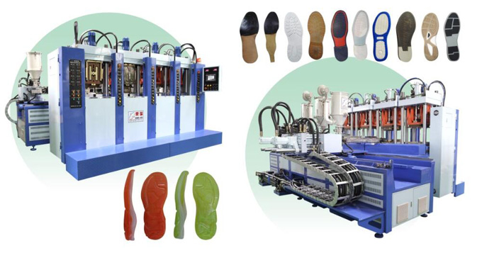 Full-Automatic Vertical Double-color Injection Molding Machine (Four  stations two guns)