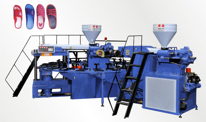 Full-Automatic Disk Type Shoe Injection Molding Machine(Double Color 20 stations)