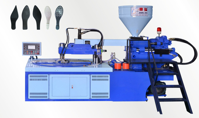Full-Automatic Disk Type Shoe Injection Molding Machine(Single Color Two stations)